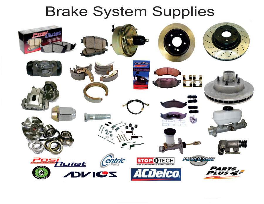 Auto Park Brake System Parts : Parking brake parts
